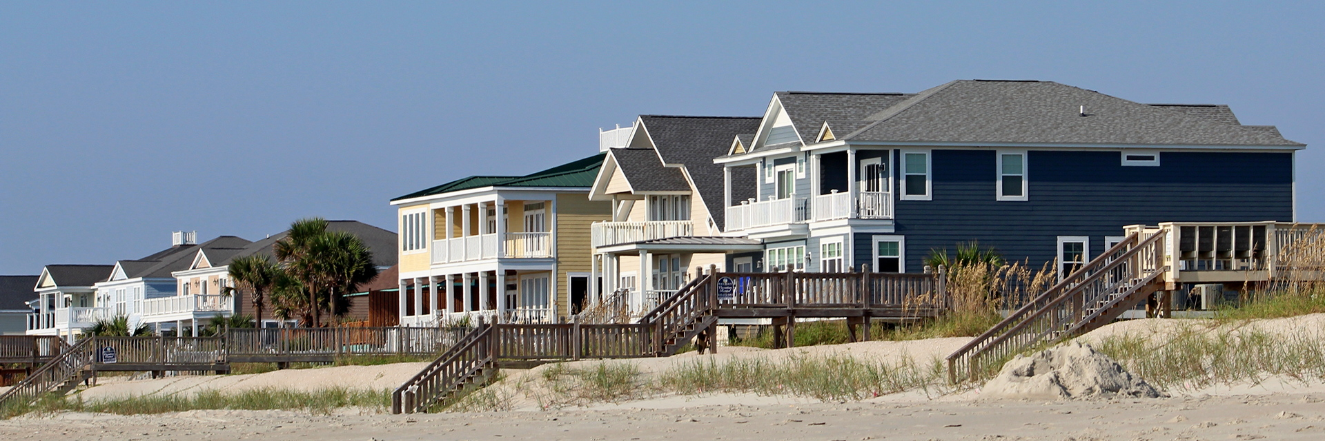 Oceanfront Homes in Myrtle Beach