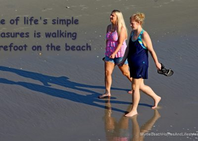 Beach Life Words of Wisdom Walking On the beach