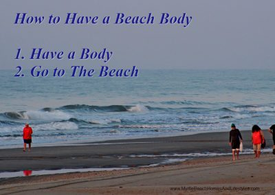 Beach Life Words of Wisdom beach body