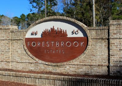 Community Entrance at Forestbrook Estates Myrtle Beach SC
